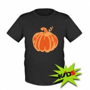 Dziecięcy T-shirt Orange pumpkin