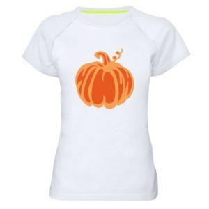 Koszulka sportowa damska Orange pumpkin