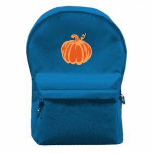 Plecak z przednią kieszenią Orange pumpkin