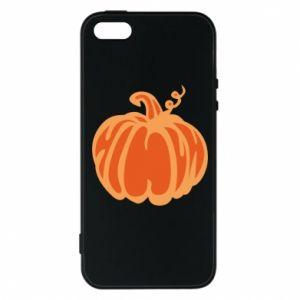 Etui na iPhone 5/5S/SE Orange pumpkin