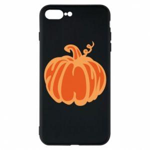 Etui do iPhone 7 Plus Orange pumpkin