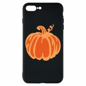 Etui na iPhone 8 Plus Orange pumpkin