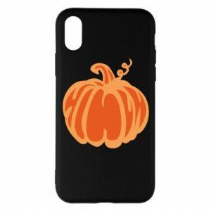 Etui na iPhone X/Xs Orange pumpkin