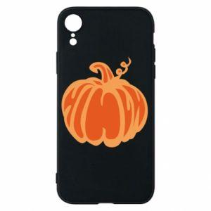 Etui na iPhone XR Orange pumpkin