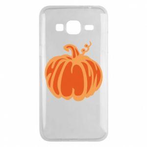 Etui na Samsung J3 2016 Orange pumpkin