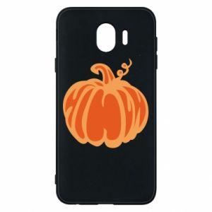 Etui na Samsung J4 Orange pumpkin