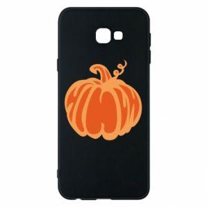 Etui na Samsung J4 Plus 2018 Orange pumpkin