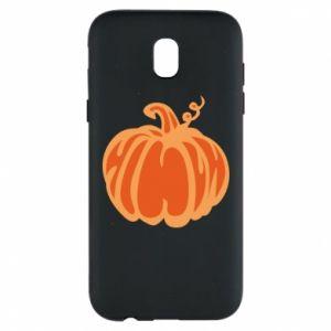 Etui na Samsung J5 2017 Orange pumpkin
