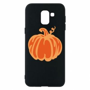 Etui na Samsung J6 Orange pumpkin