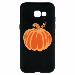 Etui na Samsung A5 2017 Orange pumpkin