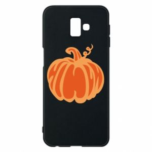 Etui na Samsung J6 Plus 2018 Orange pumpkin