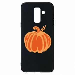 Etui na Samsung A6+ 2018 Orange pumpkin