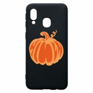 Etui na Samsung A40 Orange pumpkin