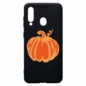 Etui na Samsung A60 Orange pumpkin