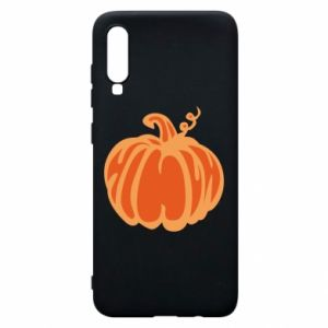Etui na Samsung A70 Orange pumpkin
