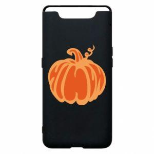 Etui na Samsung A80 Orange pumpkin