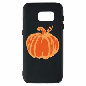 Etui na Samsung S7 Orange pumpkin