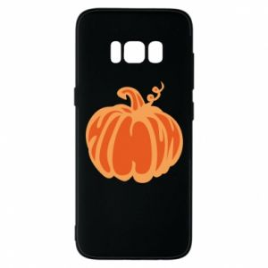 Etui na Samsung S8 Orange pumpkin
