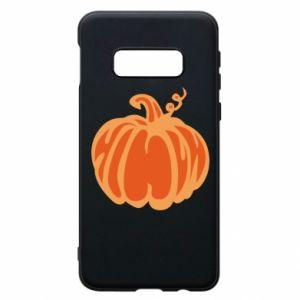 Etui na Samsung S10e Orange pumpkin