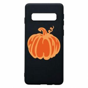 Phone case for Samsung S10 Orange pumpkin