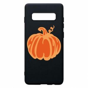 Etui na Samsung S10+ Orange pumpkin