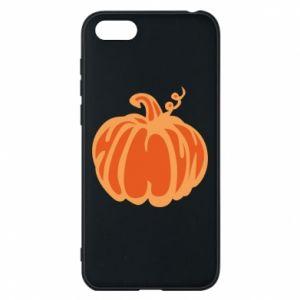 Etui na Huawei Y5 2018 Orange pumpkin