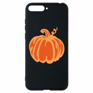 Etui na Huawei Y6 2018 Orange pumpkin