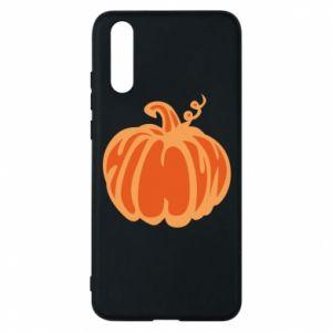 Etui na Huawei P20 Orange pumpkin