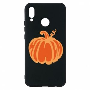 Etui na Huawei P20 Lite Orange pumpkin