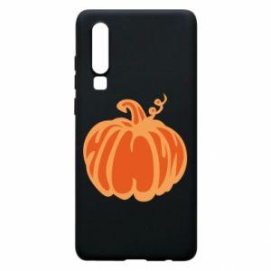 Etui na Huawei P30 Orange pumpkin