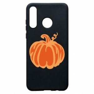Etui na Huawei P30 Lite Orange pumpkin
