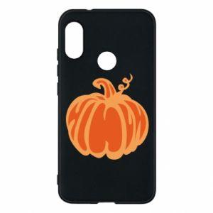 Etui na Mi A2 Lite Orange pumpkin
