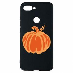 Etui na Xiaomi Mi8 Lite Orange pumpkin