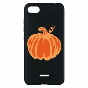 Etui na Xiaomi Redmi 6A Orange pumpkin
