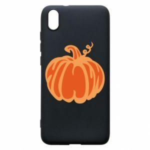 Etui na Xiaomi Redmi 7A Orange pumpkin