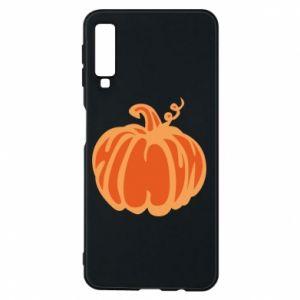 Etui na Samsung A7 2018 Orange pumpkin