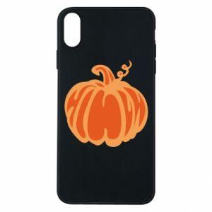 Etui na iPhone Xs Max Orange pumpkin