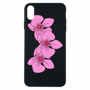 Etui na iPhone Xs Max Orchid flowers