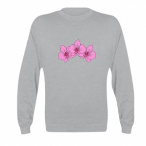 Bluza dziecięca Orchid flowers