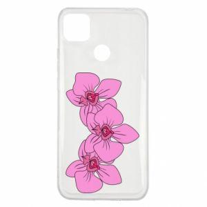 Etui na Xiaomi Redmi 9c Orchid flowers