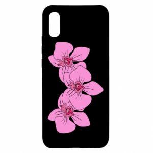 Etui na Xiaomi Redmi 9a Orchid flowers