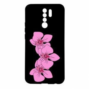 Etui na Xiaomi Redmi 9 Orchid flowers