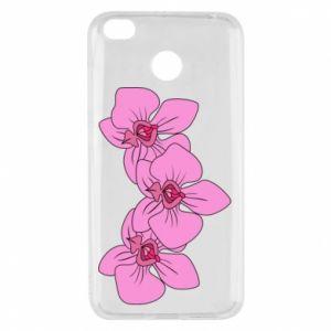 Etui na Xiaomi Redmi 4X Orchid flowers
