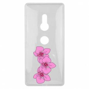 Etui na Sony Xperia XZ2 Orchid flowers