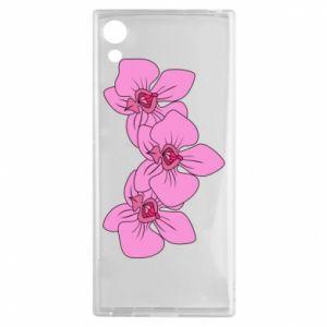 Etui na Sony Xperia XA1 Orchid flowers