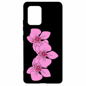 Etui na Samsung S10 Lite Orchid flowers
