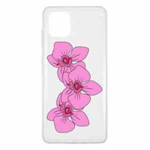 Etui na Samsung Note 10 Lite Orchid flowers