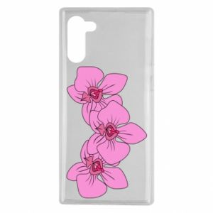 Etui na Samsung Note 10 Orchid flowers