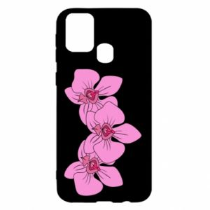 Etui na Samsung M31 Orchid flowers