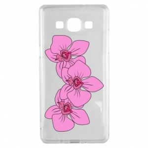 Etui na Samsung A5 2015 Orchid flowers